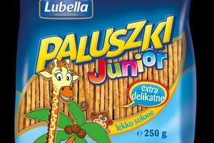 Nowa marka paluszków dla dzieci