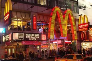 Już prawie 34,5 tys. restauracji McDonalds na świecie
