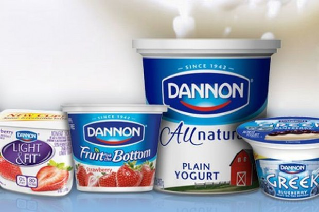 Sprzedaż Danone rośnie na świecie, ale spada w Europie