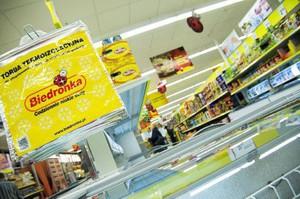 Sprzedaż Biedronki w I połowie 2013 r. wyniosła 3,7 mld Euro