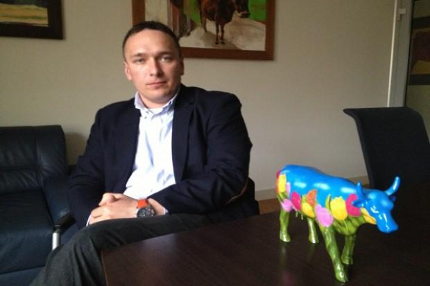 W Polsce działa 4-5 dużych firm handlujących mlekiem