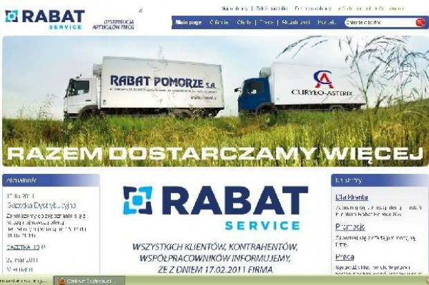 Syndyk ogłasza kolejny przetarg na Rabat Service