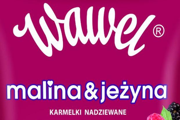 Malinowo-jeżynowe karmelki od Wawelu