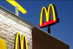 Spada sprzedaż McDonalds w Europie