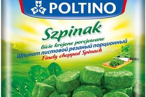 Oferta produktów POLTINO powiększa się o szpinak porcjowany