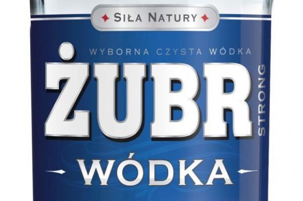 Stock zmienia pozycjonowanie wódki Żubr