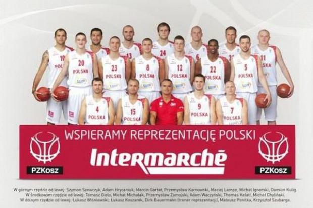 Intermarche sponsorem polskiej reprezentacji koszykarzy