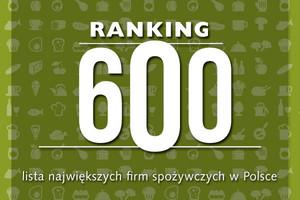 Ranking 600 - lista największych firm z sektora spożywczego w Polsce