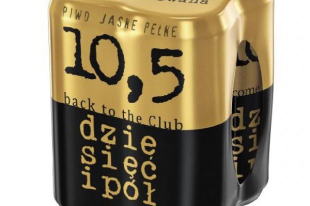 Kompania Piwowarska zadowolona z wyników sprzedaży piwa 10,5