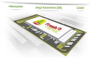 Nowe centrum logistyczne Żabka Polska