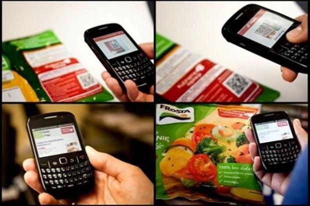 Fotokody QR robią furorę na etykietach opakowań żywności