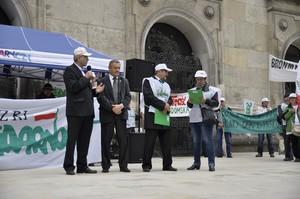 Zdjęcie numer 3 - galeria: Dość lekceważenia rolników - protest pod ministerstwem (zdjęcia)