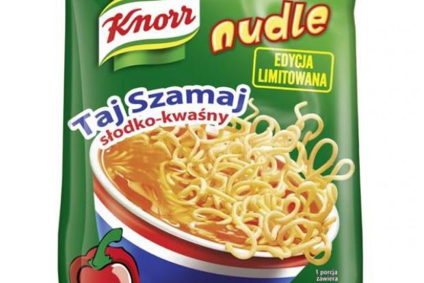 Knorr wprowadza orientalne smaki Nudli