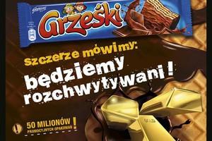 Ruszyła kampania wafelków Grześki
