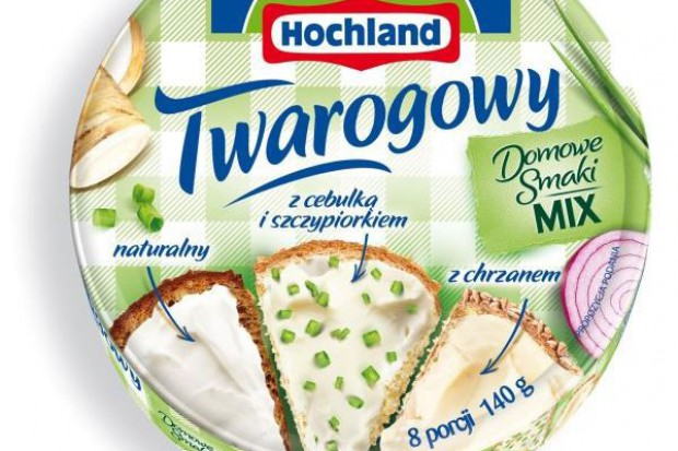 Hochland Twarogowy w krążkach - nowość na rynku