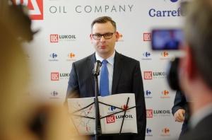 Zdjęcie numer 3 - galeria: Carrefour i Lukoil będą rozwijać współpracę w Polsce (video)