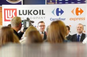 Zdjęcie numer 4 - galeria: Carrefour i Lukoil będą rozwijać współpracę w Polsce (video)