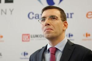 Dyrektor Carrefour o współpracy z Lukoil (video)