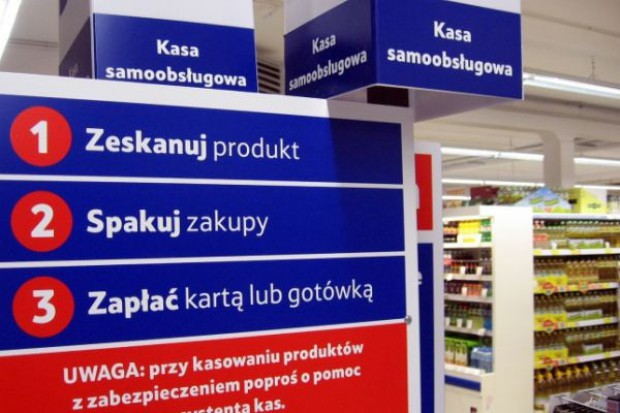 Wiceprezes Tesco: Kasy samoobsługowe tylko jako uzupełnienie kas tradycyjnych
