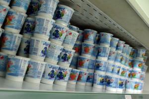 Eksport jogurtów z Polski w I połowie 2013 roku