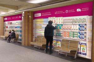 Ruszył pierwszy w Polsce wirtualny sklep w metrze
