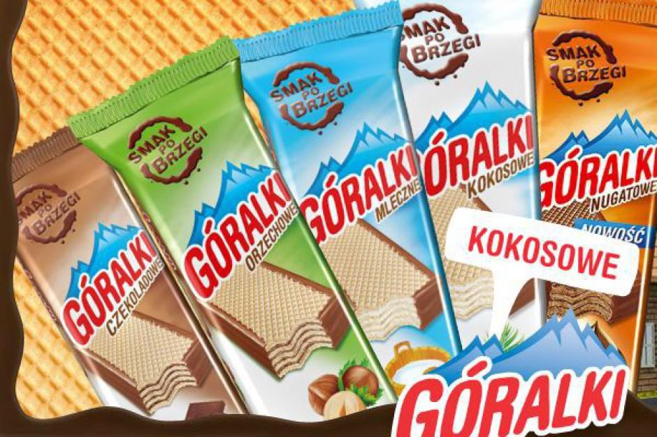 Dystrybutor wafli Góralki podwoił udział w rynku