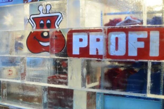 Sieć Profi otworzyła 200. sklep - wykonany z lodu (galeria zdjęć)