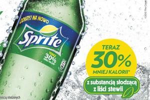 Coca-Cola wprowadza do Polski napój Sprite ze stewią