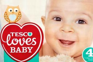 Tesco wprowadza markę Tesco Loves Baby