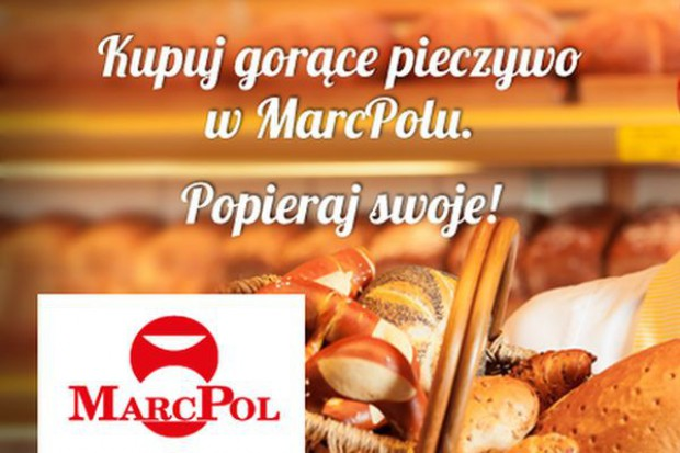 MarcPol wprowadza wypiek pieczywa do swoich sklepów