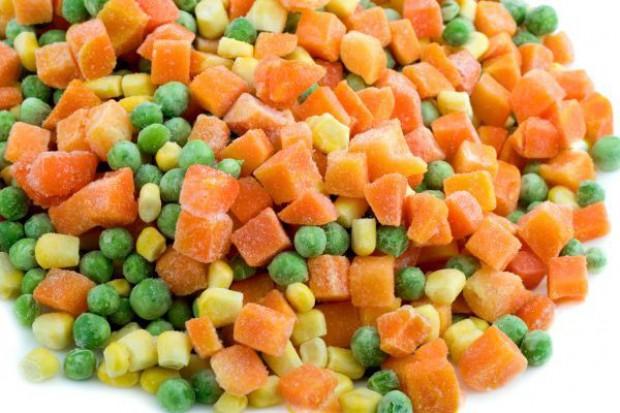 Produkcja mrożonek warzywnych w Polsce stale rośnie