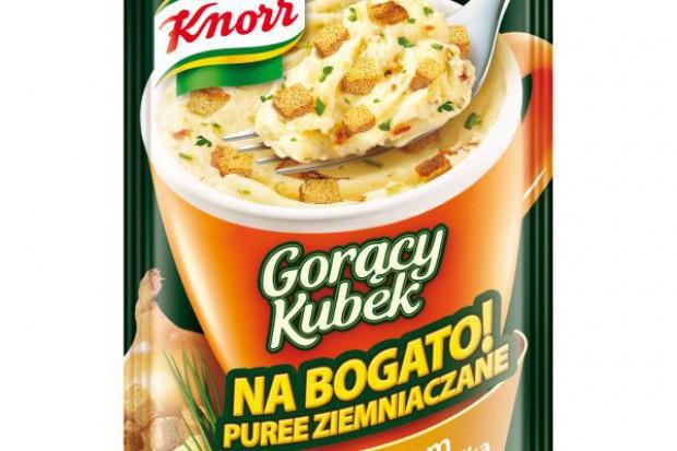 Puree ziemniaczane w nowej odsłonie Gorącego Kubka Knorra