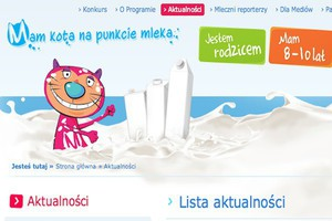 Blisko 1000 szkół dołączyło do programu promocji mleka