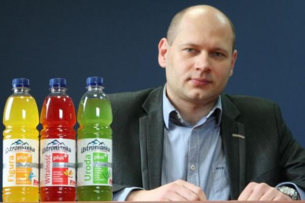 Dyrektor Ustronianki: Będziemy inwestować w kategorię napojów funkcjonalnych