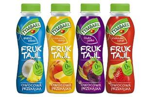 Marka Tymbark wchodzi w kategorię owocowych przekąsek. Wprowadza Fruktajl