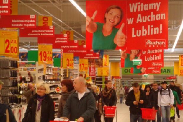 Auchan otworzył potężny hipermarket w Lublinie