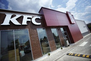 KFC motorem napędowym AmRestu