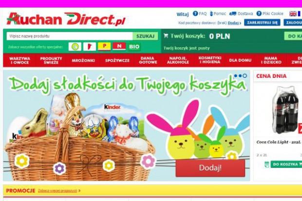 AuchanDirect.pl notuje wzrost zamówień i sprzedaży