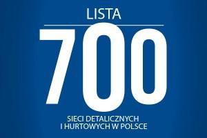 Lista 700 sieci detalicznych i hurtowych w Polsce - edycja 2014