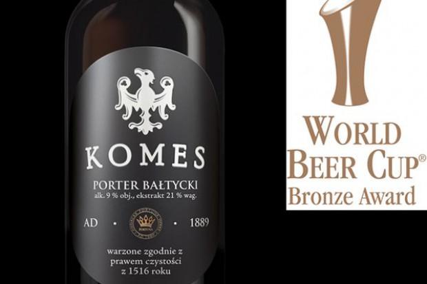 Porter Bałtycki jako jedyne piwo z Polski nagrodzone w światowym konkursie