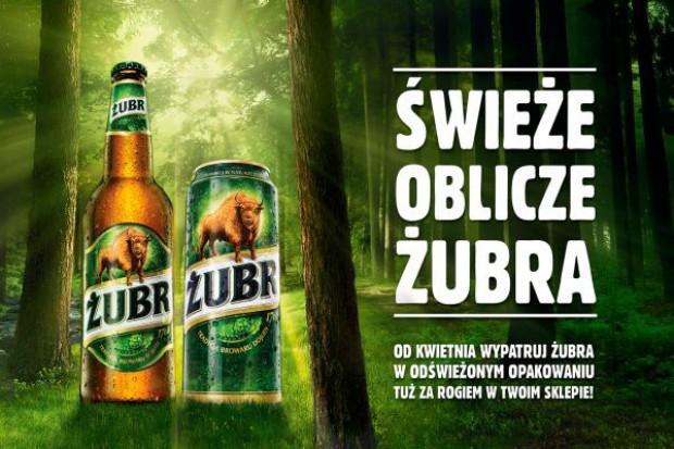 Nowe oblicze opakowań piwa marki Żubr