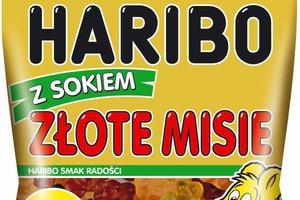 Nowe Złote Misie z Sokiem od Haribo