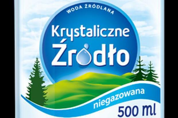 PepsiCo wycofuje z rynku wodę Górska Natura i wprowadza markę Krystaliczne Źródło