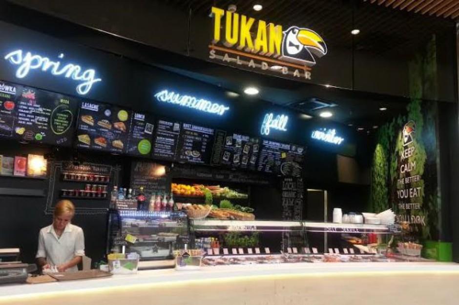 Tukan Salad Bar w Galerii Mokotów