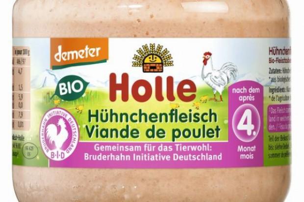 Marka Holle wprowadza ekologiczne danie z kurczaka dla niemowląt