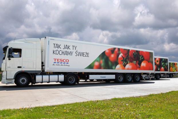 Tesco inwestuje w transport. To część nowej strategii