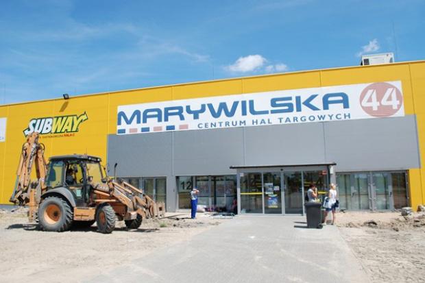 Ruszyła rozbudowa CH Marywilska 44