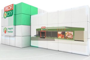 Zdjęcie numer 1 - galeria: Sieć Profi otwiera pierwszy sklep modułowy w Europie Południowo-Wschodniej - zdjęcia