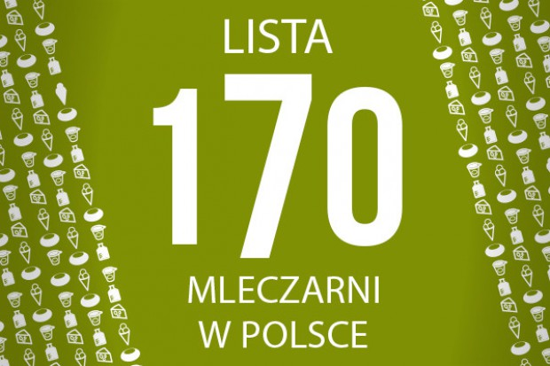 Lista 170 mleczarni w Polsce - edycja 2014