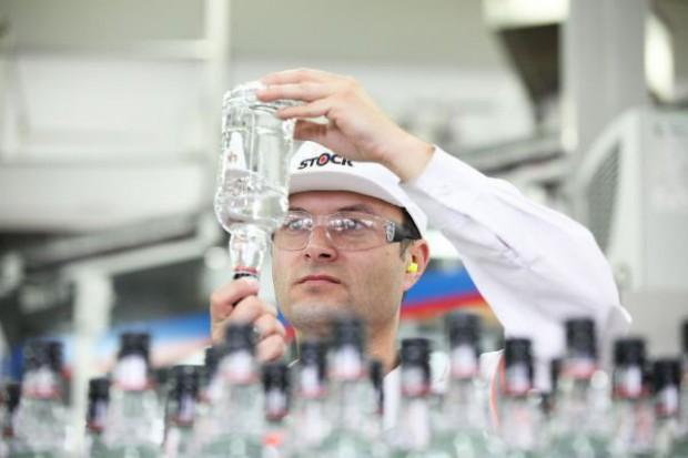 Produkcja wódki w Polsce wciąż spada